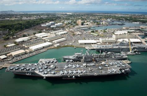 pearl harbor port timelapse as ships get underway from pearl harbor