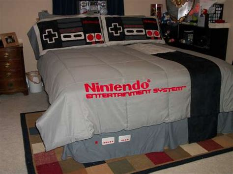 7 cool nintendo bedding items craziest gadgets