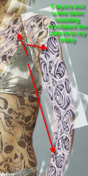 designcrowd is fake create fake tattoo photoshop tutorial