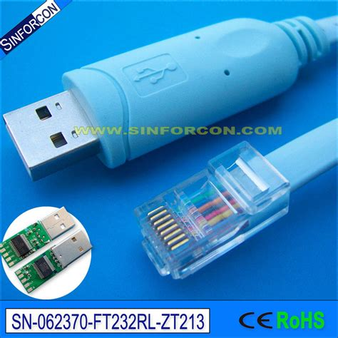 cavo console cisco ftdi ft232 usb rs232 seri 235 le naar rj45 seri 235 le console