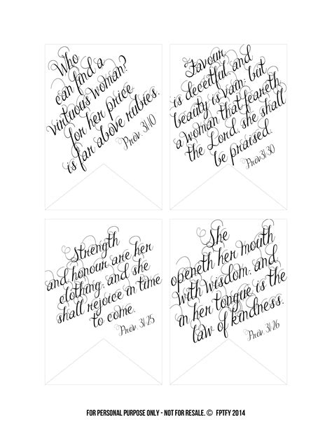 printable bible verse tags 6 best images of proverbs 31 scripture cards printable