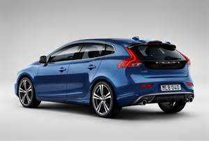 Volvo V40 R Design Colours Revised Volvo V40 Gets Xc90 Looks And Lower Co2 Coming June