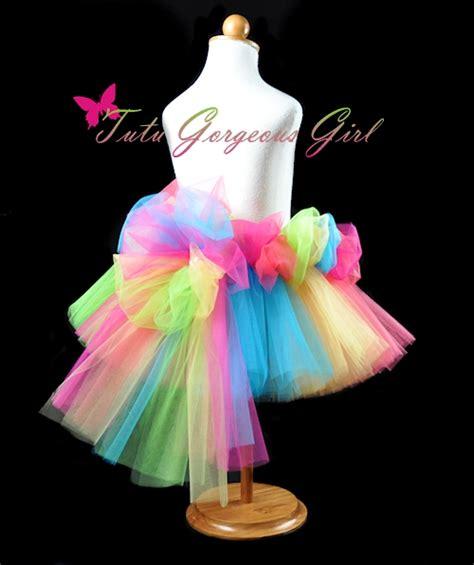colorful tutus the cha cha cha rainbow tutu is colorful choice for a