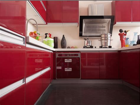 painted kitchen for sale red lacquer kitchen cabinets home design