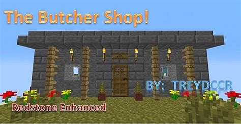 butcher build the butcher shop a interactive build minecraft project