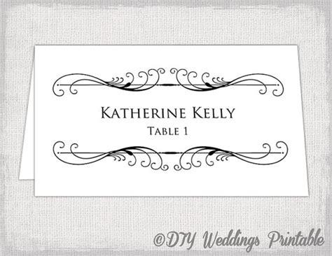 wedding table name card template card templates creative market