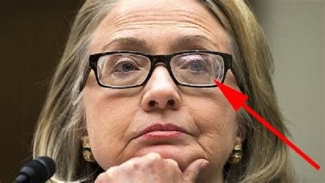Hillary Clinton Sunglasses Meme - ophalmologist says hillary s thick glasses were for double