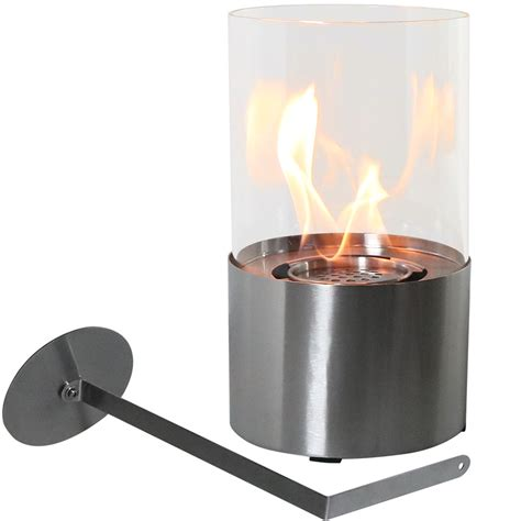 fiammata ventless tabletop fireplace bio ethanol modern
