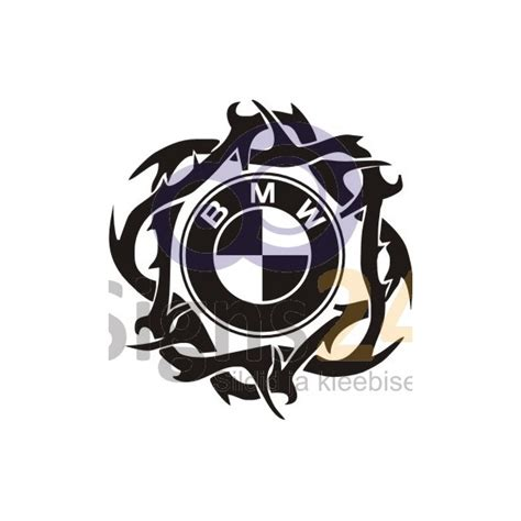 Bmw K1 Aufkleber by Bmw Tribal Logo Badge Self Adhesive Sticker Car Sticker