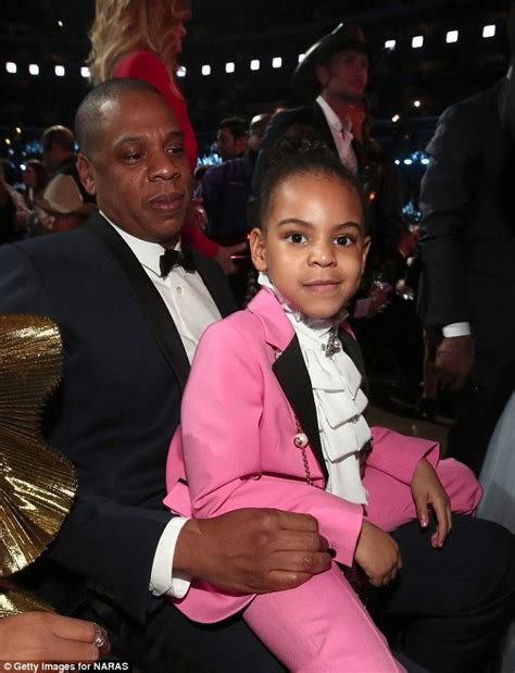beyonc and jay z welcome a daughter moms babies beyonce s daughter blue ivy dons 3k suit at 2017 grammys