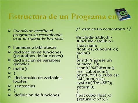 funciones de cadenas en lenguaje c lenguaje de programaci 243 n c monografias