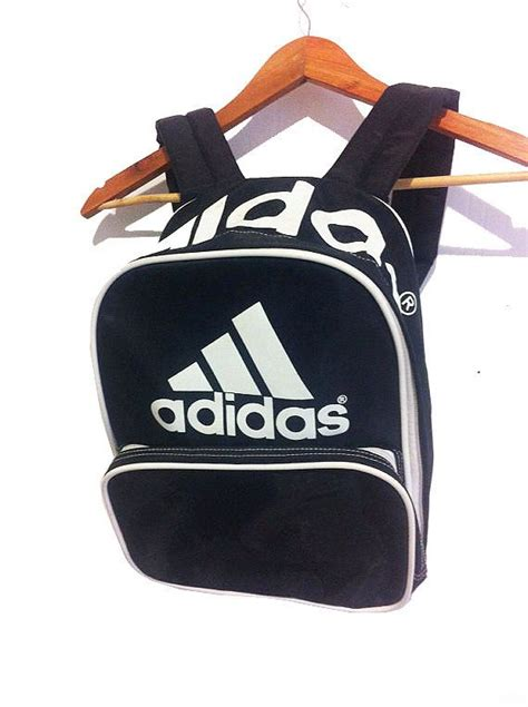 Polobaju Berkerah Logo Adidas Classic vintage 90s classic adidas logo small backpack by princegoods backpacks small