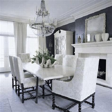 black and white dining room decorating ideas 21 creative inspiring black and white traditional dining