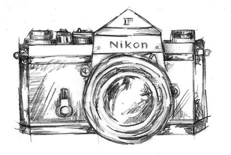 camera sketch wallpaper nikon clipart camera sketch pencil and in color nikon