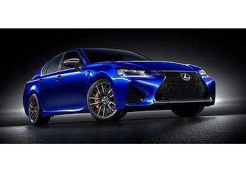 lexus to show new gs f high performance sedan at detroit
