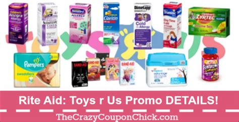 Toys R Us Promotional Gift Card - rite aid free 25 toys r us gift card details and deal ideas the crazy coupon