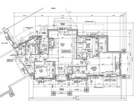 draw building plans 2d autocad house plans residential building drawings cad