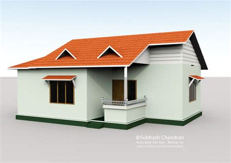 3d By Subhash Chandran At Coroflot Com House Plans 3d Max