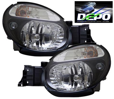 2002 2003 Subaru Impreza Wrx Black Head Lights Oe Style