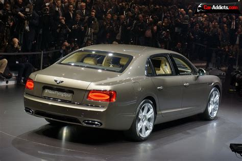 bentley flying spur geneva motor show 2013 live 2014 bentley continental
