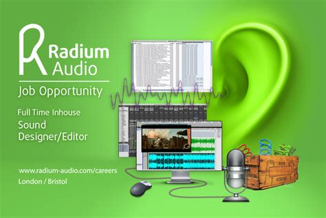 best sound designers 1701a sound designer editor radium audio radium audio