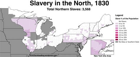 us map northern states slavery in the northern united states 1790 to 1860