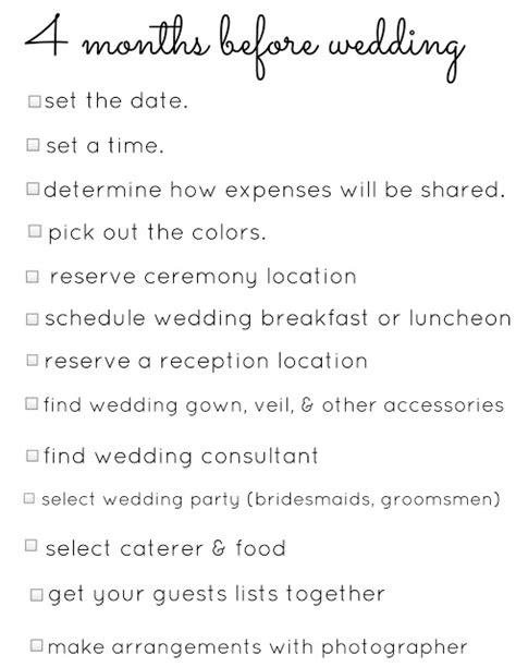 planning a wedding in 3 months timeline crazyforus the best of wedding on the web