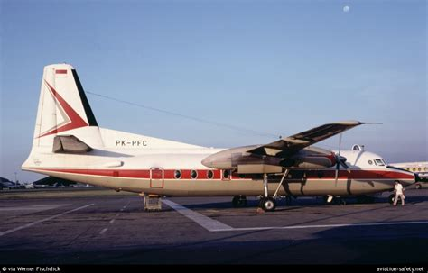 Merpati Fokker 27 Aeroclassics 1 400 photo of fokker f 27 friendship 400 pk pfc aviation safety network