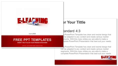 powerpoint elearning templates free elearning concept education ppt templates