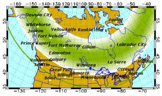 map of northern canada and alaska forecast geophysical institute