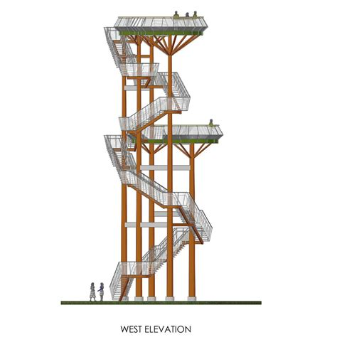 observation tower plans gallery of observation tower arvydas gudelis 30 architecture kinetic architecture and