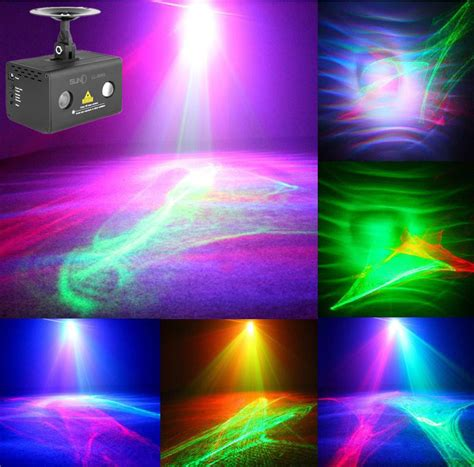 disco christmas lights high quality wedding decoration stage rgb led background effect lights