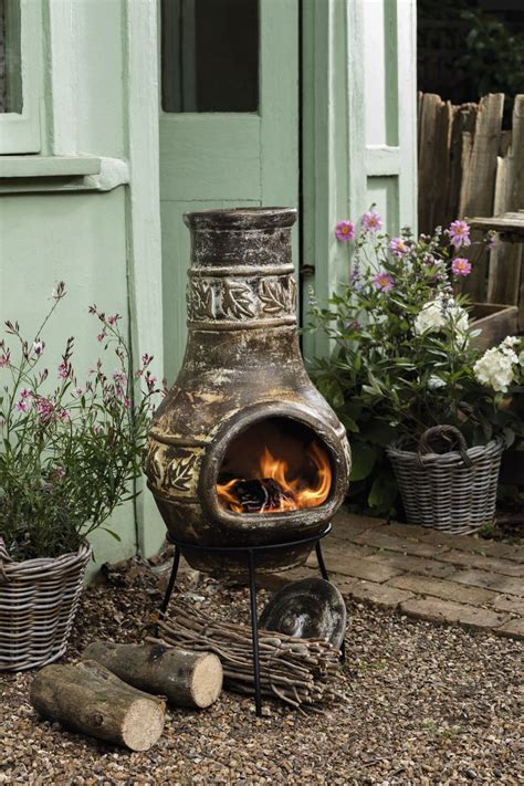 chiminea covered patio 23 best chiminea images on bar grill garden