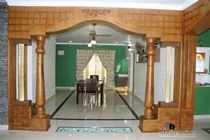 Pillar Designs For Home Interiors by Kerala Interior Design Decorations And Wood Works