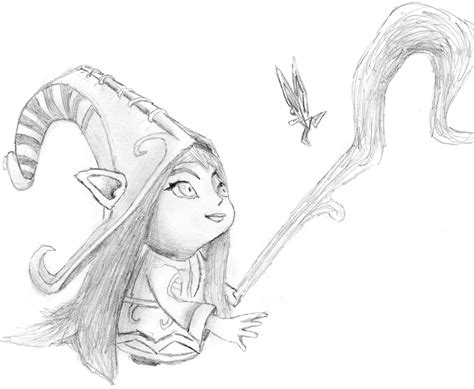 K Drawing Lol by League Of Legends Lulu Drawing By Matthewturpin On Deviantart