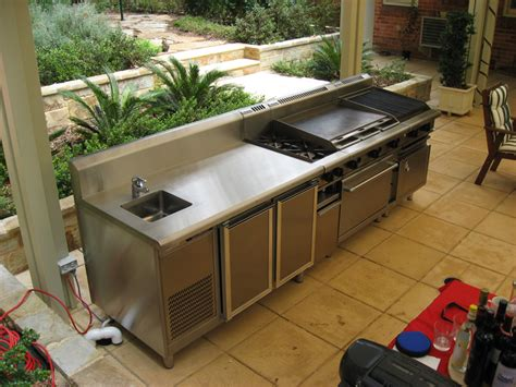 sinks for outdoor kitchens domestic bbq s