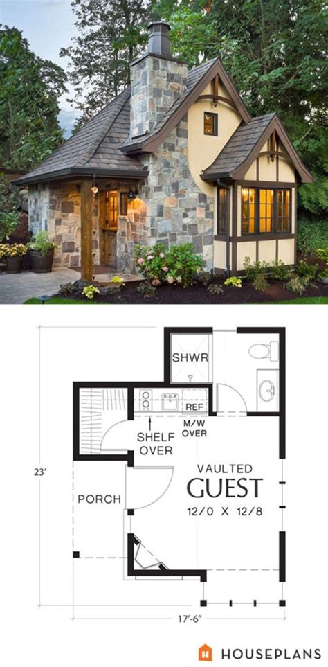 tiny guest house plans best 25 backyard guest houses ideas only on pinterest