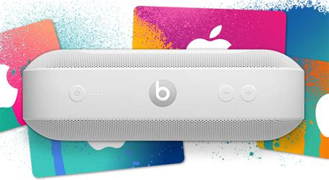 Apple Gift Card With Purchase - apple offering 60 itunes gift card with beats headphones and speakers purchase