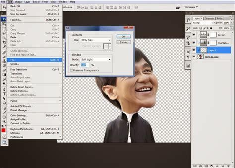 membuat video karikatur cara membuat karikatur dengan photoshop