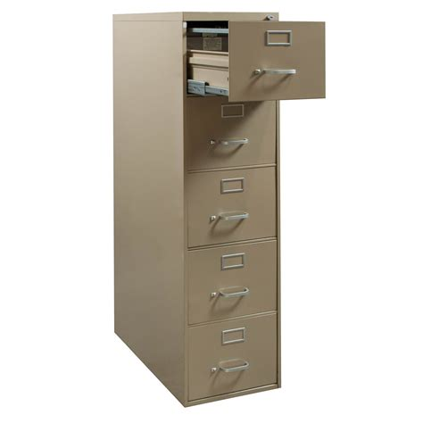 Steelcase Used 5 Drawer Letter Vertical File Cabinet Tan 5 Drawer Vertical File Cabinet