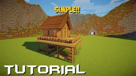membuat rumah mewah di minecraft minecraft tutorial cara membuat rumah survival 5 youtube
