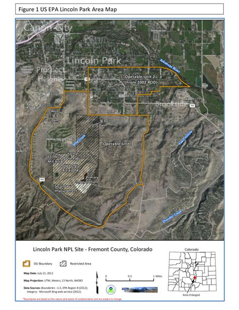superfund sites map lincoln park cotter mill de commissioning comment period