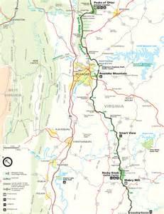 map of blue ridge blue ridge parkway map travel asheville nc