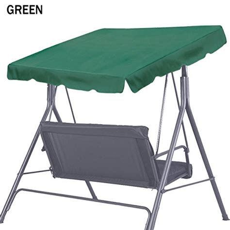replacement porch swing seat awardpedia 77 quot x43 quot green swing canopy replacement porch