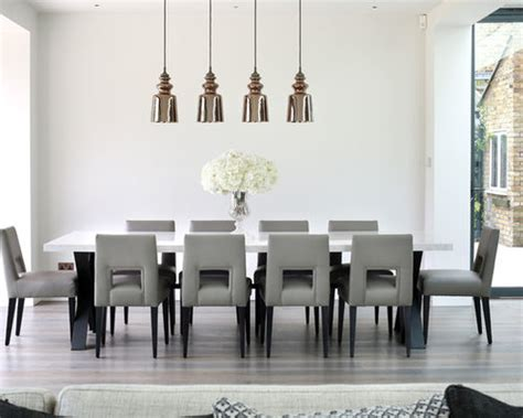 houzz large dining table seats   people home design