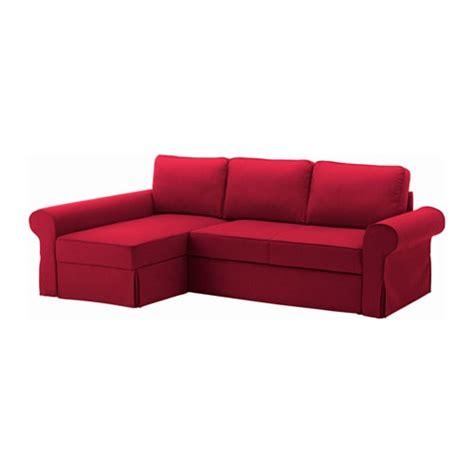 divano rosso ikea backabro divano letto con chaise longue nordvalla rosso