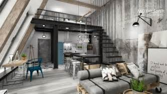 Loft Layout by 7 Inspirational Loft Interiors
