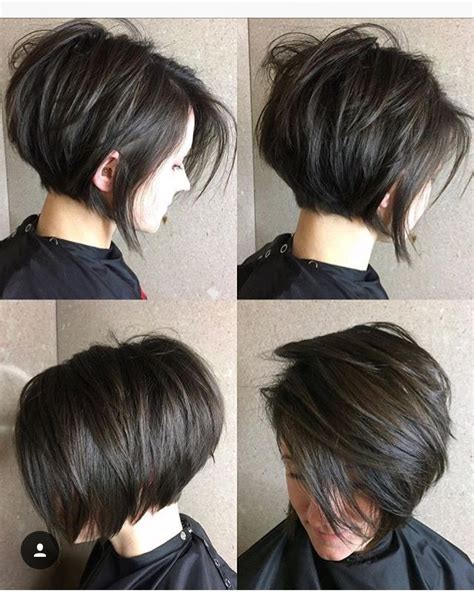 diy cutting a stacked haircut love this cut great movement but less stacked rounded