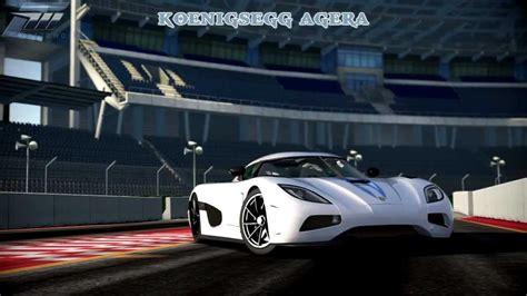 koenigsegg ultimate aero forza 4 koenigsegg agera vs ssc ultimate aero drag