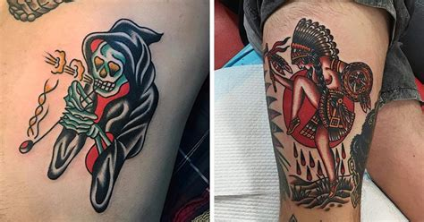 seen 550 image uploads tattoo share bert grimm s legacy seen in tattoos of grinning suns and